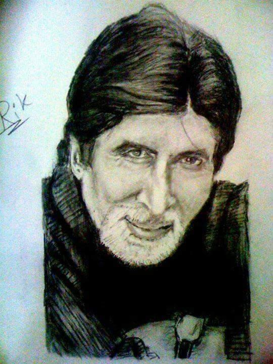 Amitabh Bachchan by chhandak1989